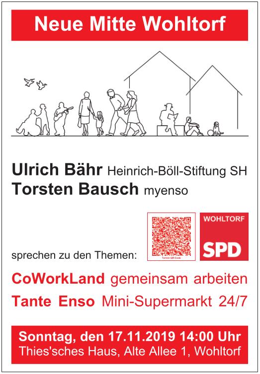 Plakat zum 4. Polit-Café